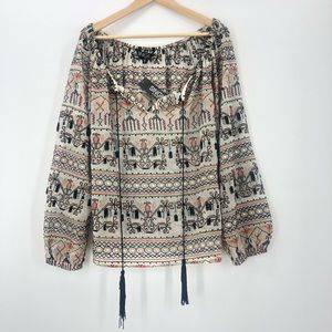 $216 Single Los Angeles NWT full beaded emboidery